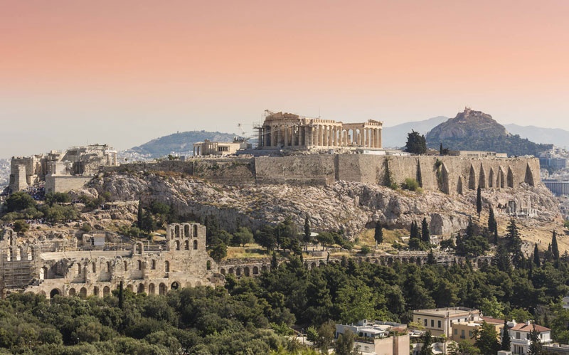 The Athens Acropolis - 2,5 hrs